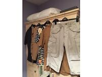 Mens Summer / Holiday Clothes - Shorts (SUPERDRY & JACK JONES) & T-Shirts (5 Pieces)