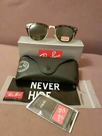 Ray-Ban clubmaster sunglasses tortoiseshell