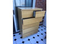 Ikea Malm 6 drawer