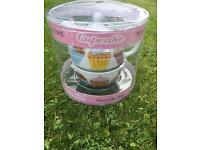 Tea for one. Cupcake tea pot and cup set - New