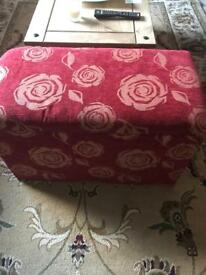 Ottoman or storage chest