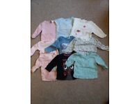 50 piece bundle 0-3months baby girl clothes