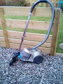 Vax force 10 pet vacuum cleaner cyclonic. Used once ,surplus to requirements. Tools included