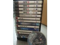 ps 3 games and stand