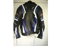 LEATHER MOTORCYCLE JACKET & TROUSERS