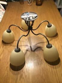 Light fitting- 5 bulbs