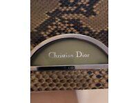 Beautiful vintage Christian Dior python handbag Hardly used.