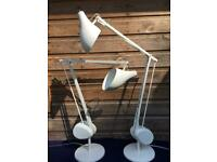 Pair of HABITAT NEWTON by Terence Conran Counter Balance Anglepoise Task Lamps
