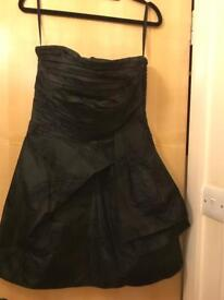 Juicy Couture Black Strapless Dress