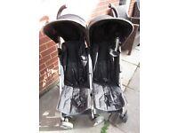 Mamas & Papas Double Stroller Pushchair