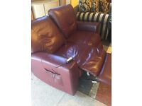 quality leather ,two seater sofa