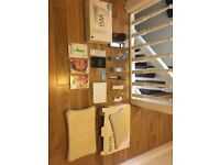 Nintendo Wii fit with board and games