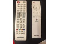 Two Samsung remote controls
