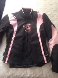 Ladies motorcycle jacket