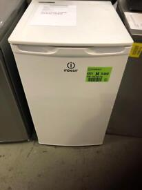 New Indesit undercounter fridge - white with 1 year warranty