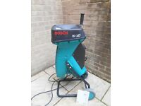 Bosch garden shredder in good working order and with instruction book. For collection.