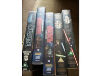 Vhs Star Wars tapes