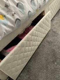 Single (3ft) divan bed with drawers