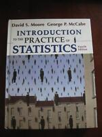 Introduction to the Practice of Statistics 4th Ed. Moore McCabe