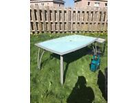 Garden dining table