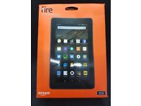 """Amazon Fire 7 Tablet with Alexa, Quad-core, Fire OS, 7"""", Wi-Fi, 80GB"""