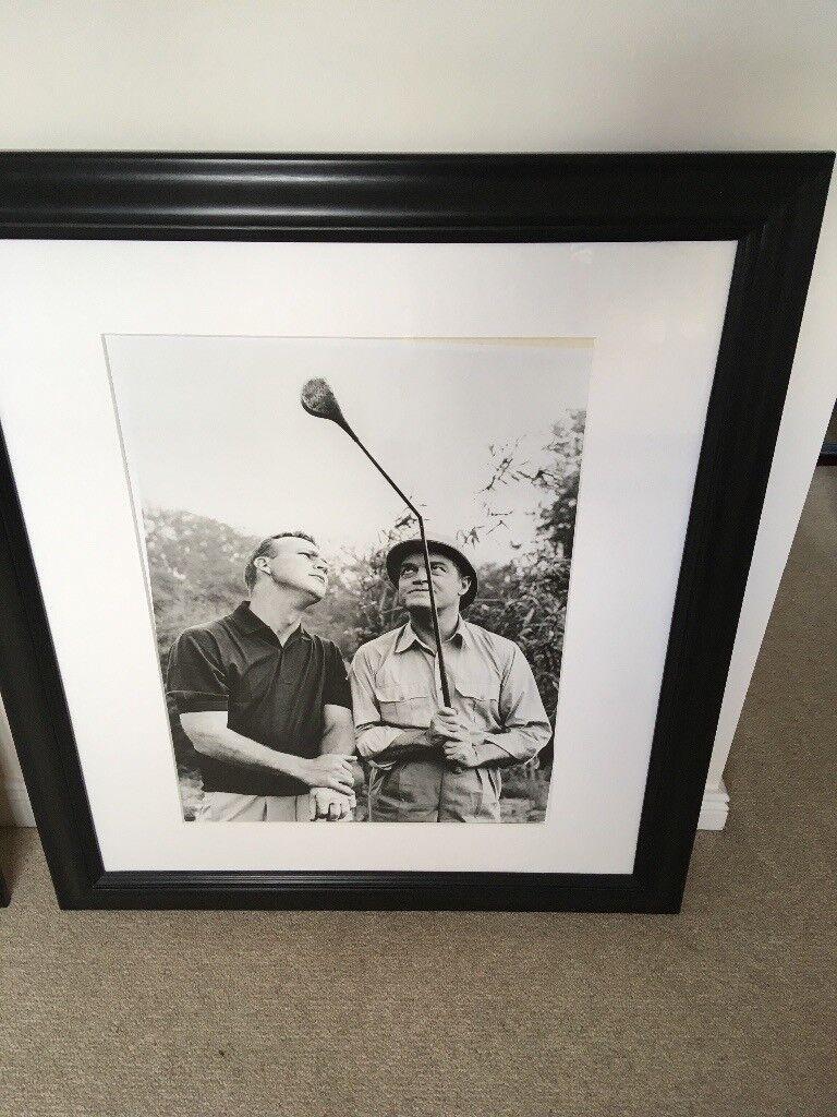 Two black framed Bob Hope Golf pictures | in Inverness, Highland ...