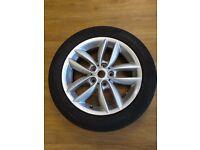 Single Alloy Wheel for Mini - Firelli Tire 205/55 R17
