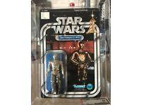Vintage Star wars 12 backs