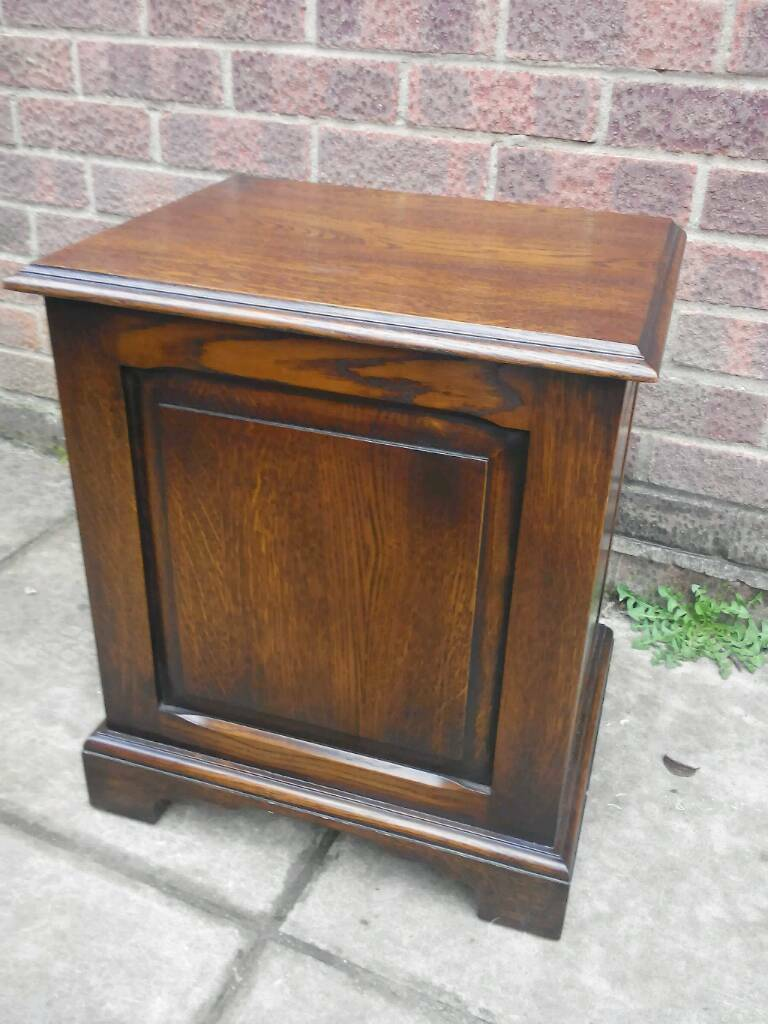 Traditional Dark Oak Furniture For Traditional Dark Wood Storage Chest With Lift Up Lid In Norwich