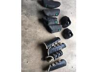 Equestrian horse boots