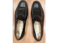 Black mens mocassins size 11