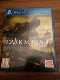 Dark Souls 3 Ps4 Mint Condition Boxed