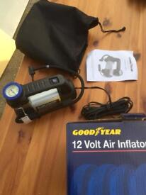 Goodyear electric 12V tyre inflator