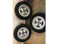 "13"" classic ford rs wheels (Capri,escort)"