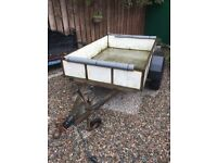 6ft x 4ft TRAILER METAL SIDES AND FOOR
