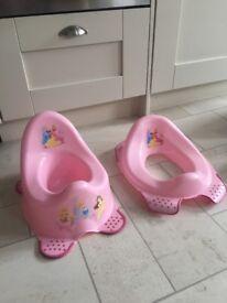 Pink Disney Princess Potty and Training Seat
