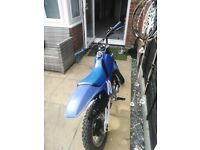 Py 110cc pitbike engine in it just need the bake brake doing