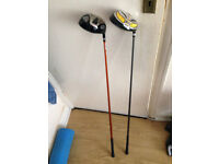 Golden Bear Driver and Progen Driver Golf clubs