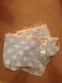2 x scarves by Joules BNWT
