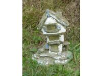 Vintage Painted Cottage Garden Ornament 28cm Tall