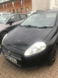 Fiat Punto 1.4 09plate with bluetooth