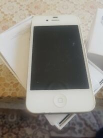 White iPhone 4S in great condition