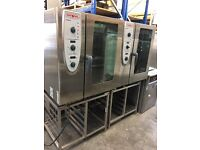 Rational Combi Master 10 Grid Electric Oven (3 Phase) with Stand