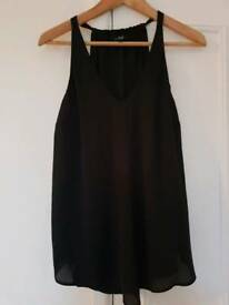 Black blouse size 10