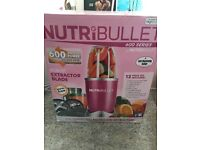 Nutribullet extractor 600 w 12 pieces