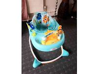 Finding Nemo sea and play baby walker