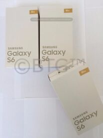 FOR SALE BOXED NEW SEALED Samsung Galaxy S6 AND S4