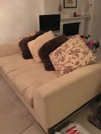 DFS couch Large 3 seater 215 cms long X 90 deep, very good condition