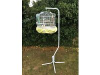 Birds Cage With Stand Complete