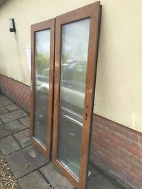 Double UPVC doors